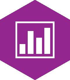 Heaxagon service icon, sales